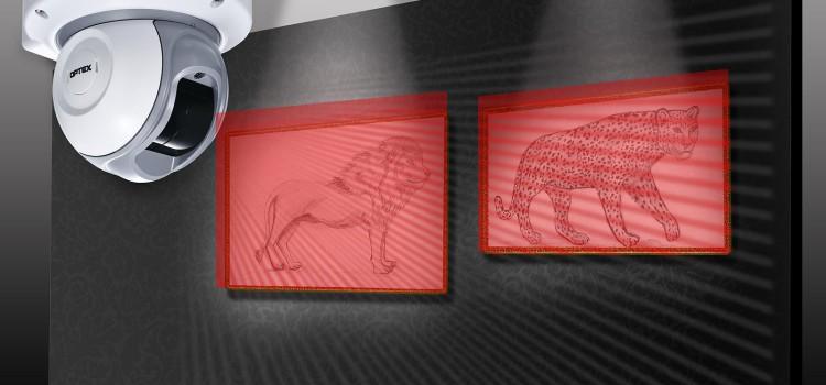 Korszerű behatolásvédelem: az Optex RLS-2020I beltéri lézerszkenner.Forrás: Modern Alarm Kft