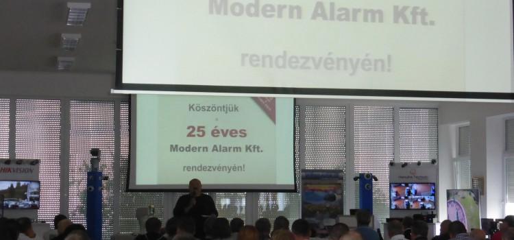 A Modern Alarm 25 éve a pályán! Beszámoló az évfordulós rendezvényrőlForrás: Modern Alarm Kft