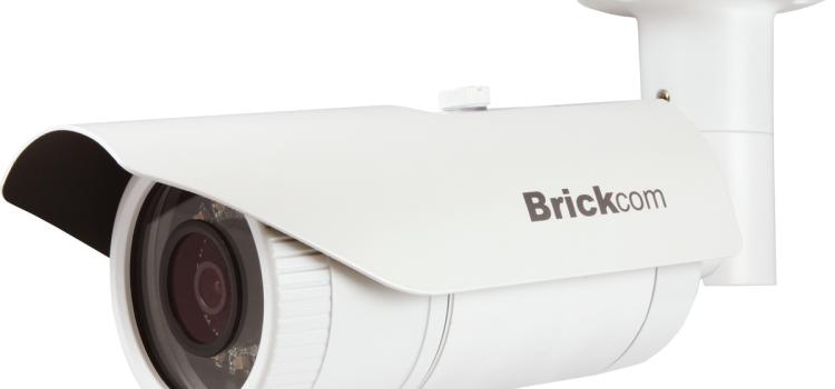 Motoros ZOOM IP CCTV kamerák a BRICKOM-tól
