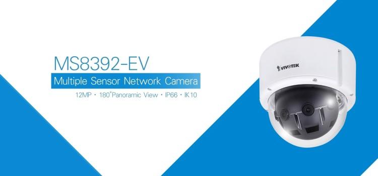 ÚJ VIVOTEK 180° IP CCTV dome kamera