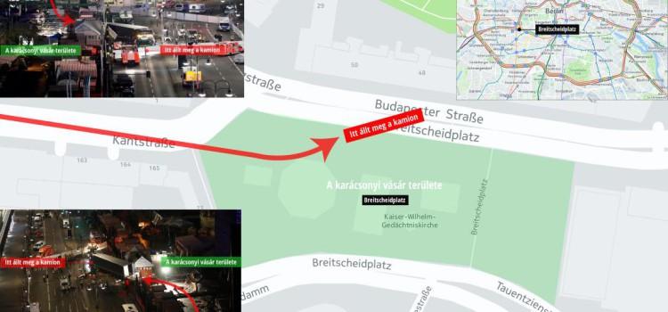 A jogállam biztonsági korlátai! A térfigyelők tiltása is nehezítette a berlini támadó utáni hajszát Forrás: index.hu