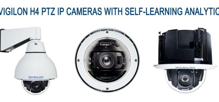 Új H4 IP CCTV PTZ kamerák az Avigilontól