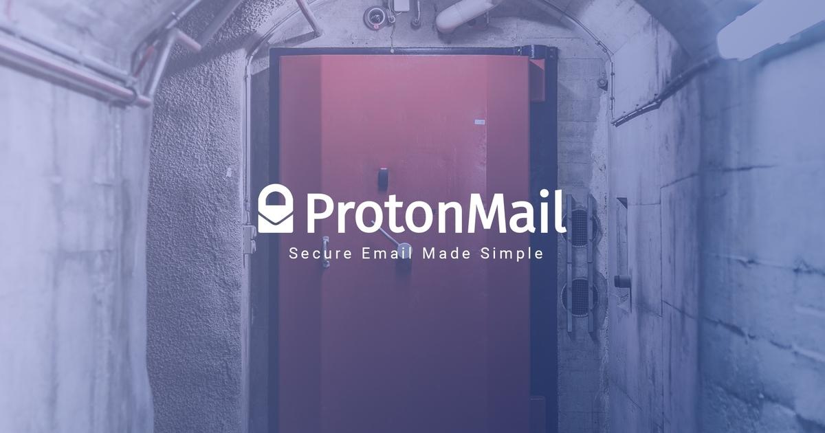 ProtonMail titkosított email