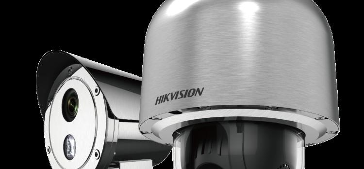 Új robbanásbiztos Hikvison IP CCTV kamerák