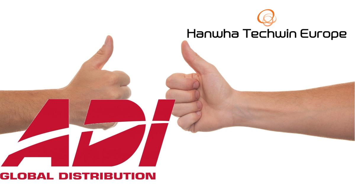 Hanwha Techwin - ADI GLOBAL szövetség