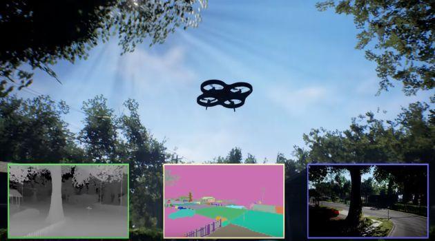 Virtuális tesztkörnyezet a drónipar szolgálatában Forrás: Microsoft