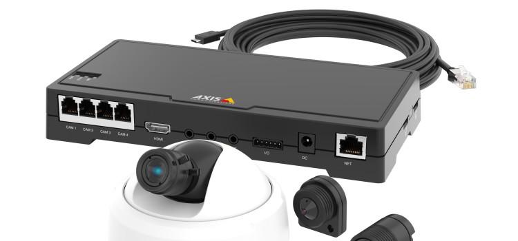 Axis újdonságok a videomegfigyelésben: FA – sorozat és a P13 széria Forrás: axis communications