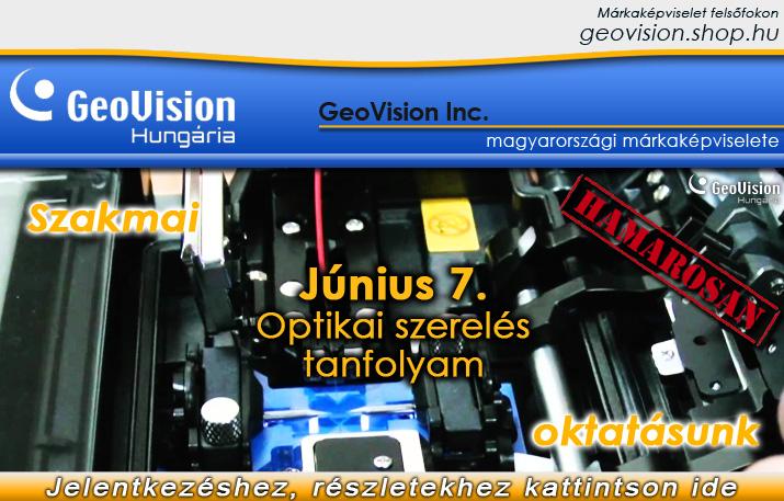 Optikai szerelés tanfolyam Forrás: GeoVison Hungária Kft.