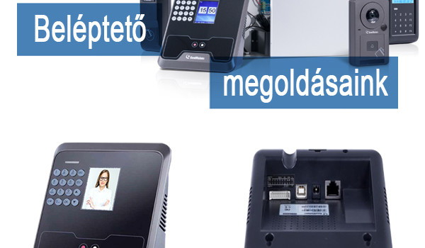Biometrikus azonosítás a GeoVision FR2020 olvasóval Forrás: GeoVision Hungária Kft
