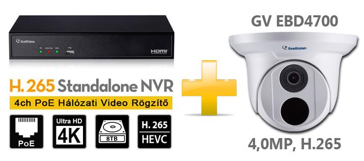GeoVision SNVR H.265 szett – Bevezetjük a 4-esek világába Forrás: https://geovision.shop.hu/termekek/szettek/kameras-szettek/geovision-h265-eyeball-szettek/