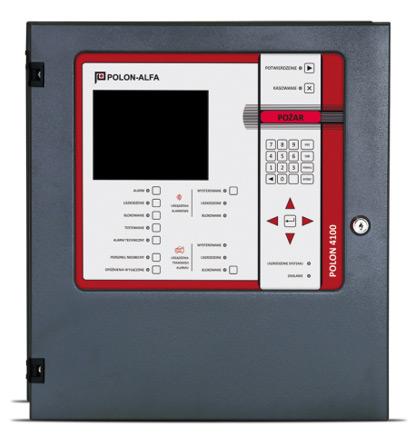 Polon 4100-as központ 2 hurokkal, 2 x 64 címzett eszközzelForrás: Astal Security Kft