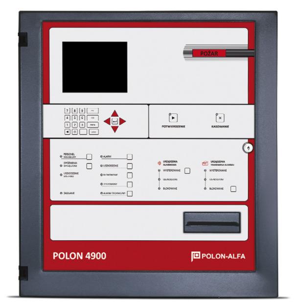 Polon 4900-as központ 8 hurokkal, 8 x 128 címzett eszközzelForrás: Astal Security Kft