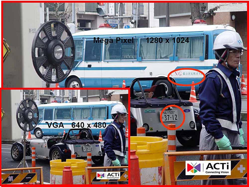 VGA és SXGA felbontások összehasonlításaForrás: dipolnet.com