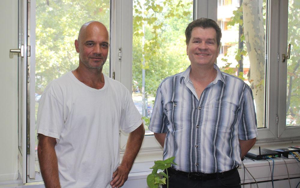 balra Tóth Csaba (Elit-ŐR Kft) és Tóth Ferenc (LDSZ Kft)