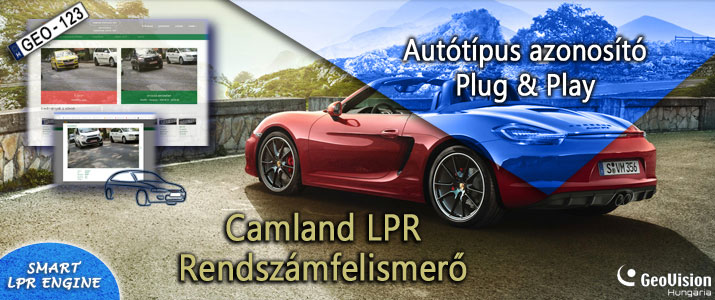 Camland LPR + MMRForrás: GeoVision H. Kft