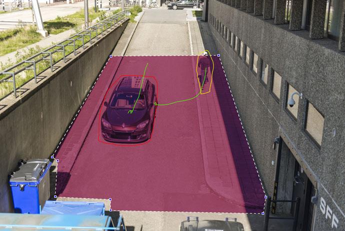 Parkolás tiltott helyenForrás: Bosch Biztonságtechnika