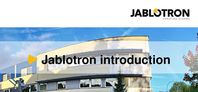 Jablotron-introduction-slideplayer-cover